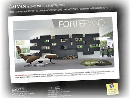 Muebles Galvañ Mobiliario de Diseño | Due Interiorismo.